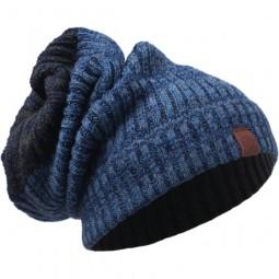 Buff Knitted Neckwarmer Hat Braidy