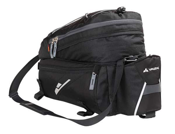Vaude Silkroad L black Gepäckträgertasche