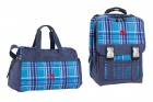 Take it Easy Schulrucksack-Set viola blue
