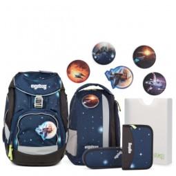 ergobag Pack-Set (6-tlg.) Galaxy Glow Edition