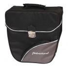 Haberland Einzeltasche abschlie�bar EV9916 Vario-Haken-Befestigung schwarz/silber
