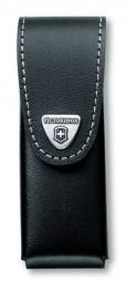Victorinox G�rteletui, Leder schwarz, bis 3 Lagen