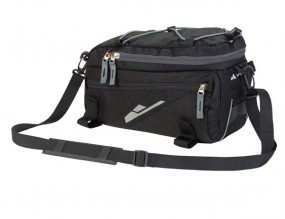 Vaude Silkroad S black Gepäckträgertasche