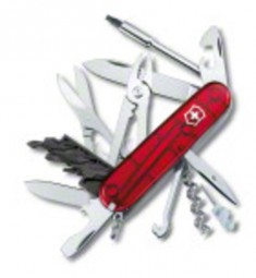 Victorinox CyberTool 34, rot transparent
