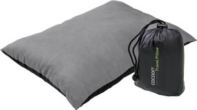 Cocoon Travel Pillow Nylon/Mikrofaserhülle synthetische Füllung 29x38 cm charcoal/smoke grey
