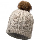 Buff Knitted & Polar Hat Darla