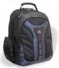Wenger Pegasus Laptop Computer Backpack schwarz-grau