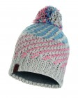 Buff Knitted und Polar Fleece Hat Nella