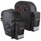 KLICKfix Backpack (Paar) schwarz