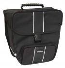Haberland Einzeltasche 16 Liter schwarz mit Hakenbefestigung