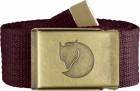 Fj�llr�ven Canvas Brass Belt 4 cm