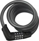 Abus Tresor 6512C/180 Kabelschloss mit Halterung black