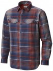 Columbia Silver Ridge Flannel Long Sleeve Shirt Mens