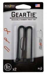 Nite Ize Gear Tie Gr. 6, 2er Pack