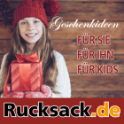 Tolle Geschenkideen bei Rucksack.de
