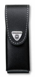 Victorinox Gürteletui, Leder schwarz, 2 bis 4 Lagen
