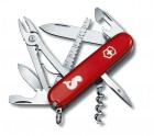 Victorinox Offiziersmesser Angler rot