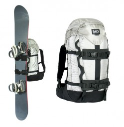 Bach Snow Board Attachment black Paar