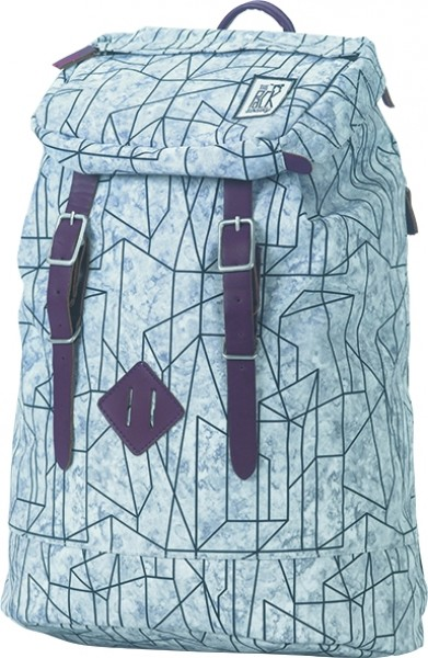 213439307d221 The Pack Society Premium Backpack Cool Prints · blue waves allover