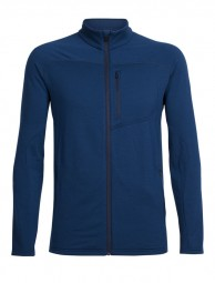 Icebreaker Mens Mt Elliot LS Zip