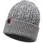 Buff Knitted Hat Braidy