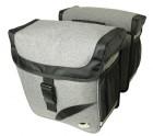 Haberland Doppeltasche Trend L DS3432 Gepäcktr.-System-Adapter passend f. Carrymore u. iRack