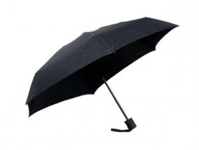 Regenschirm Mini Pocket schwarz, 22,8 cm