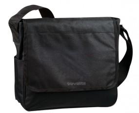 Travelite Basics Messenger Tasche, schwarz
