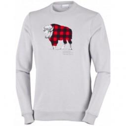Columbia Csc Check The Buffalo Crew Sweatshirt Men