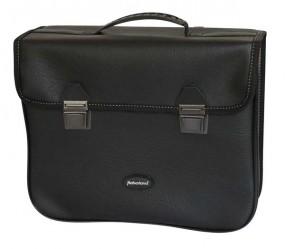 Haberland Einzeltasche Kunstleder EH0283 16 Liter Einh�ngehaken schwarz