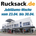 Jubiläumswoche bei Rucksack.de