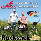 Fahrradtaschen von Haberland. Made in Germany!