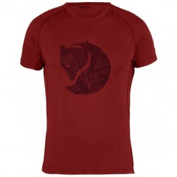 Fjällräven Abisko Trail T-Shirt Fox Print M