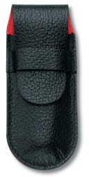 Victorinox Lederetui, schwarz