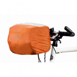 Vaude Raincover for handle bar bag orange