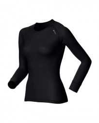 Odlo Women Shirt L/s Crew Neck Cubic