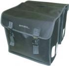 Basil Mara XL Doppeltasche schwarz