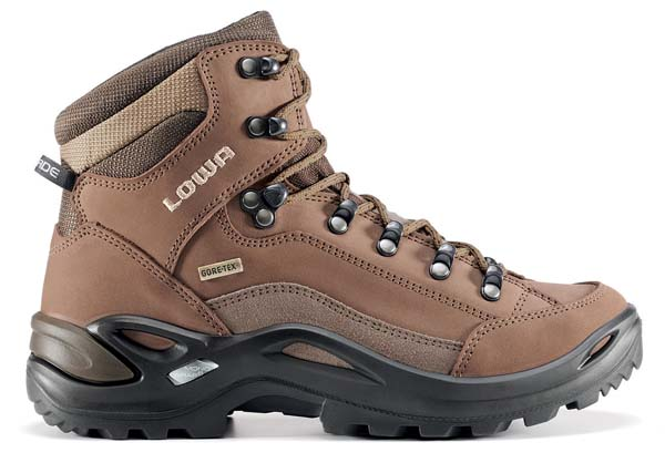 Lowa Renegade GTX Mid Ws schmal taupe/sepia 7,5 (41,5)