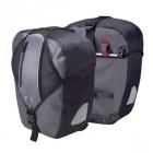 KLICKfix Ultima Packtaschen (Paar) schwarz/grau