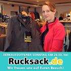 Verkaufsoffener Sonntag bei Rucksack.de am 29.03.2015