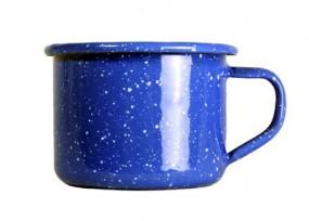 Relags Emaille Espresso Tasse 125 ml, blau