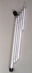 Relags Abschlusskappe zu Alustangen, nestbar passend zu 125,145,160,180cm
