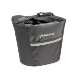 Haberland vordere Korb-Einkaufstasche KT2250 schwarz 2. Wahl