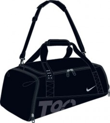 Nike Total 90 Medium Duffel black/black/silver