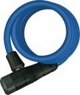 Abus Primo 5510K/180/10 Kabelschloss mit Halterung Key Color