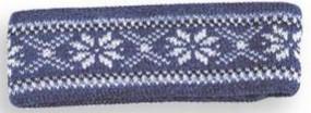 Nordstrikk Borgund Kinderstirnband jeansblue