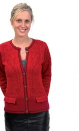 Norlender Inga Norweger-Strickjacke