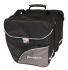 Haberland Doppeltasche DT9932 30l, schwarz/ silber