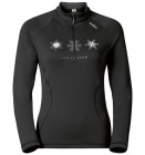 Odlo Women Midlayer 1/2 Zip Glade