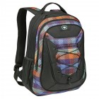 Ogio Shaman persimmon plaid